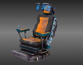 SCI FI armchair 3D model