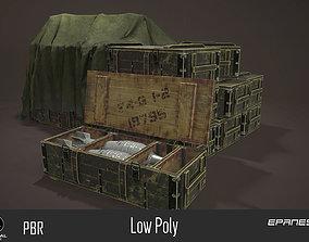 Armor Boxes 3D model