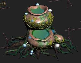 Cartoon version - petrol spores 02 3D model