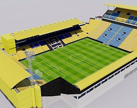Estadio de la Ceramica - Villarreal 3D asset game-ready