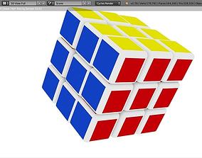 3D cube Rubiks Cube