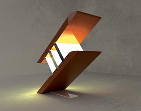 MODERN LAMP 3D asset VR / AR ready