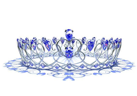 Silver Swirl Crown