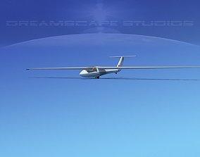 SZD-36 Cobra Glider V01 3D asset