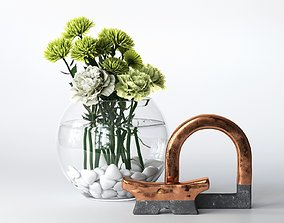 3D Plants with Decorative Objects
