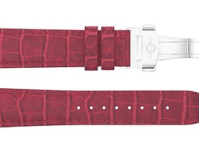 3D asset Strap watch Reptile red PBR