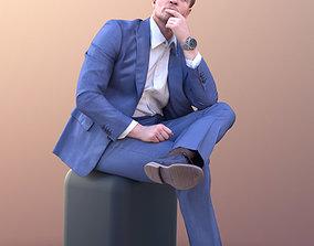 3D asset Andrew 10595 - Talking Business Man