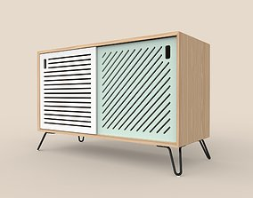 Pointillee Media Unit Medium Size 3D model