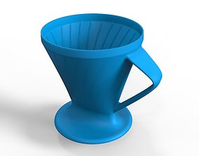 Cone Coffee Filter Strainer Maker 3D printable model
