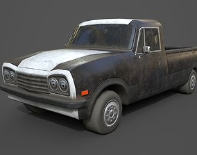 Generic PickUp Black 3D model
