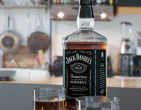 3D model Jack Daniels Whiskey