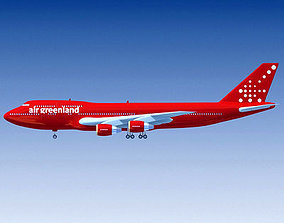 GreenLand Airlines 3D model