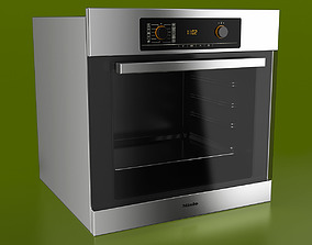 Miele Single Electric Oven 3D