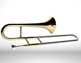 Trombone Brass 3D
