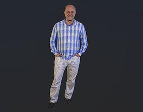 3D model No161 - Bald And Happy