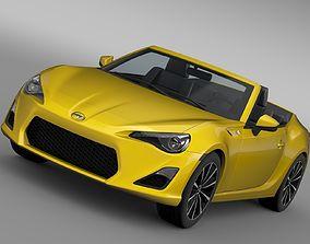 Scion FR S Cabrio 2015 3D model