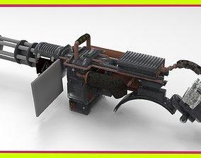3D model realtime Minigun