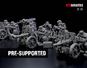 Ice Warriors - Heavy Support Squad of 3D printable model 2