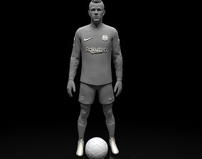 Ter Stegen football player 3d model Stl files 3D print