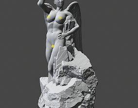 3D printable model creation of woman