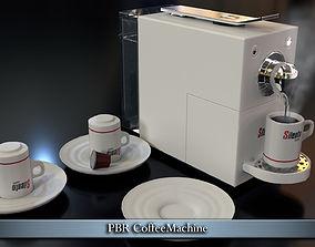 PBR CoffeeMachine 3D model