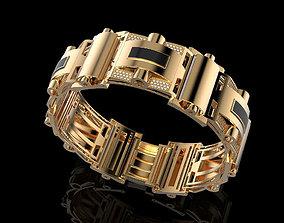 Bracelet 3D printable model jewellery