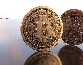 3D model Bitcoin Lowpoly