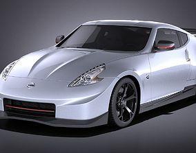 3D model Nissan 370z Nismo 2014 VRAY