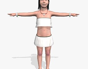 Sexy Young Girl A10 3D model
