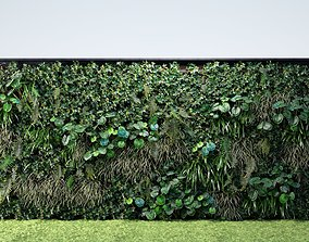 Vertical Garden 7 3D plants