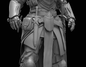3D model game-ready Knight