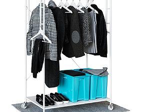 IKEA SAMMANKOPLA Floor hanger 3D model