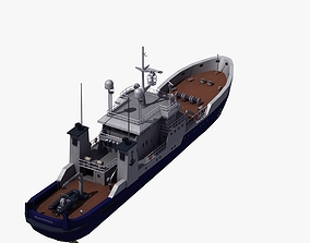 Fisheries Protection Vessel 3D