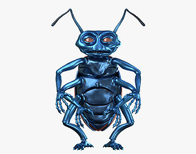 3D model Cartoony Beetle