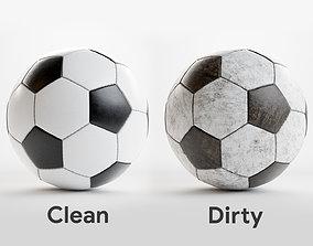 3D model stadium Soccer ball