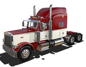 3D model 389 Semi Truck