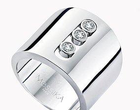 3D print model Rings anello MESSIKA-CG70