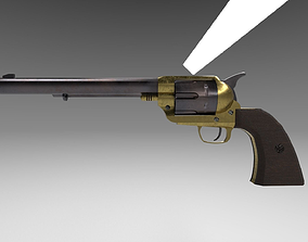 Colt Single Action Army Revolver 3D