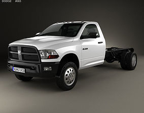 3D Dodge Ram Regular Cab Chassis 2012