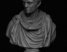 Constantine Emperor Bust 3D print model
