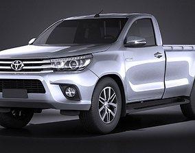Toyota Hilux Regular Cab 2016 3D
