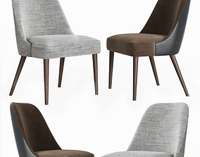 Zuma Pumice Accent Chair 3D