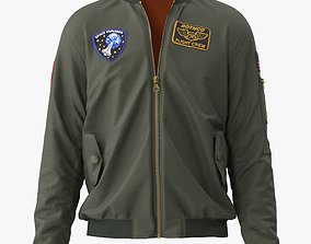 3D model Flight Jacket