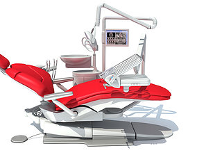 3D Dental Treatment Station with Chair
