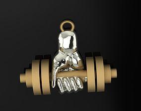 Pendant Gym 159 3D printable model