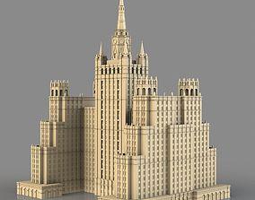 High-rise on Kudrinskaya Square 3D