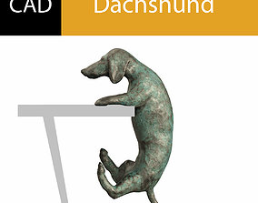 3D printable model Dachshund cad