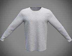 Sweatshirt 3D model PBR