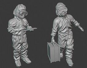 3D print model Epidemic medics - 28mm wargaming miniatures