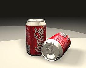 3D model coke Coca Cola Can